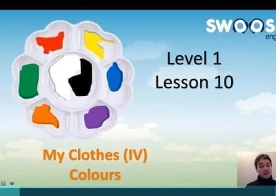 Level 1 Lesson 10: My Clothes IV