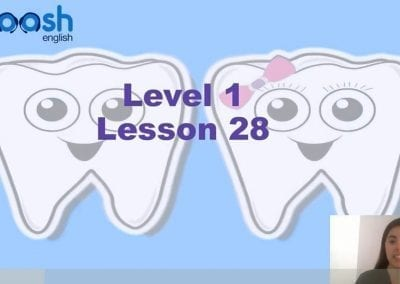 Level 1 Lesson 28: Where is my tooth?