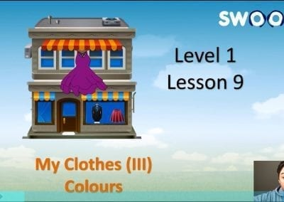 Level 1 Lesson 09: My Clothes III