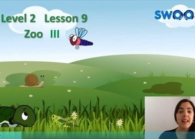 Level 2 Lesson 09: In the zoo III