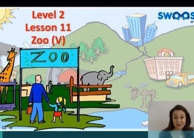 Level 2 Lesson 11: In the zoo V