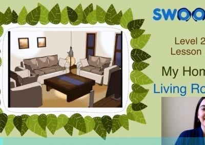Level 2 Lesson 01: My Home – Living Room