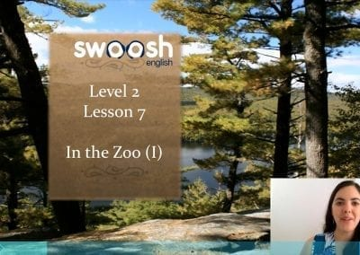 Level 2 Lesson 07: In the zoo I