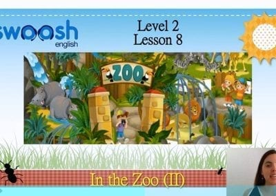 Level 2 Lesson 08: In the zoo II
