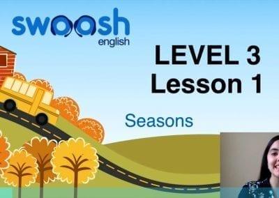 Level 3 Lesson 01: Season I
