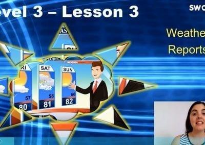 Level 3 Lesson 03: Season III