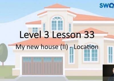 Level 3 Lesson 33: My New House II (Location)