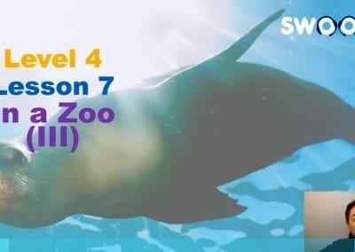 Level 4 Lesson 07: In a Zoo III (Sea Life)