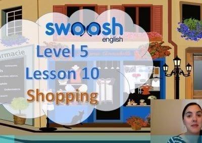Level 5 Lesson 10: Shopping I