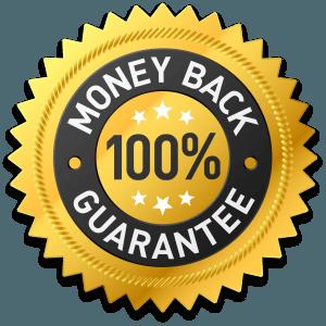 Money back 100% Guarantee logo