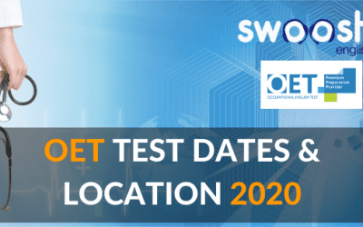 OET Test Dates and Locations 2020