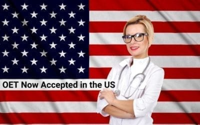 Breaking news: The OET Now Accepted in the US
